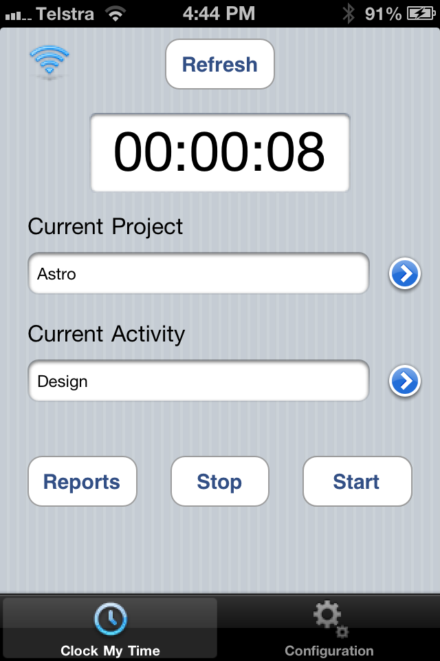 Image of Clock My Time for iPhone